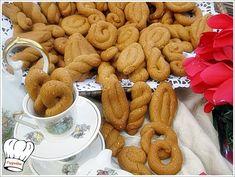 Greek Sweets, Greek Desserts, Greek Recipes, Biscuit Cookies, Cupcake Cookies, Greek Cake, Greek Cookies, Cookie Recipes, Dessert Recipes