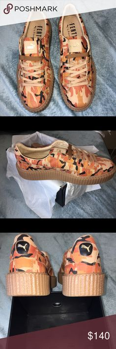 3e141b5cb264 Puma by Rihanna Men s Camo Suede Creepers Brand new out of the box. Only  tried