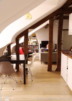 41 meilleures images du tableau Combles aménagés   Ceiling, Loft ...