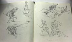 ArtStation - From sketchbook , Pavel Maksymenko