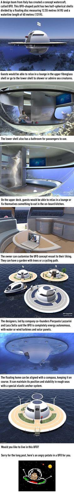 UFO home concept