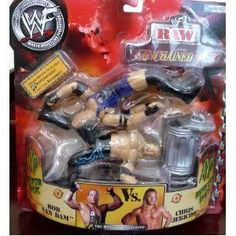 ROB VAN DAM RVD vs CHRIS JERICHO WWE WWF Raw Unchained Fury figure ** Be sure to check out this awesome product.