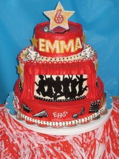 I M Going To Have This Cake Every Year For My Birthday You Are Never Old An Hsm Dreams High School Musical