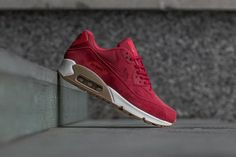 88f7b43c9f NIKE AIR MAX 90 SE W - GYM RED, GUM LIGHT BROWN & WHITE DS TRAINERS IN ALL  SIZES