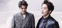 Kai and Baozi: Let me take an educated guess, who of the two in this picture is the youngest? (-.-)