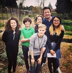 Jamie with the inspirational Alice Waters at the Edible Schoolyard Berkeley, California!