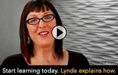Start learning today. Lynda explains how. She explains PSE so clear and simple. (AM). Videos.