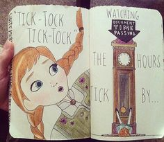 Wreck this journal! This is awesome. I would do this but I don't think it would look that good!!