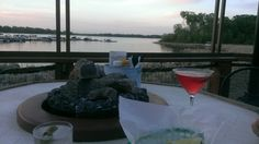 Beautiful place to sit outside and enjoy a cool beverage and the view. Admiral D's in White Bear Lake, MN