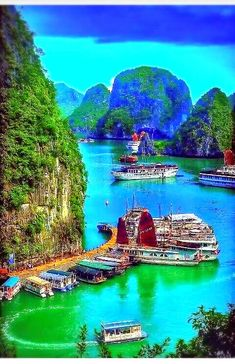 Discover the most beautiful places in the world, travel tips and destination informations Beautiful Places In The World, Wonderful Places, Places To Travel, Places To See, Vietnam Travel, Nature Pictures, Amazing Nature, Travel Around The World, Vacation Spots