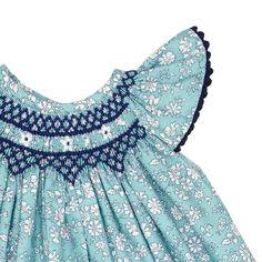 Coloma baby smock dress