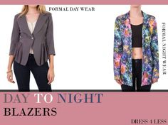 Bored of your run of the mill office attire? Shop Our Day to Night blazers for a different look at work! http://shopresso.in/index.php?route=product%2Fmanufacturer%2Finfo&manufacturer_id=26