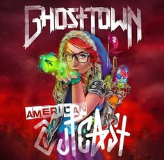 Ghost Town American Outcast,Art By Imamachinist #GhostTownBand