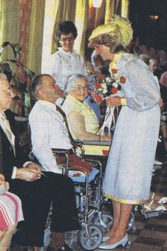 1983-06-28 Diana visits a Care Home for the Elderly in Summerside, Prince Edward Island