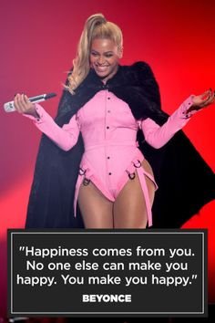 Famous Quotes : From Beyonce to Kanye West, 21 inspiring celebrity quotes on happiness:… New Quotes, Happy Quotes, Inspirational Quotes, Famous Quotes, Qoutes, Funny Quotes, Famous Celebrities, Beautiful Celebrities, Define Happiness