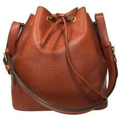 Louis Vuitton - Petit Noe Epi Leder Kenyan Fawn Braun #vintagefashion
