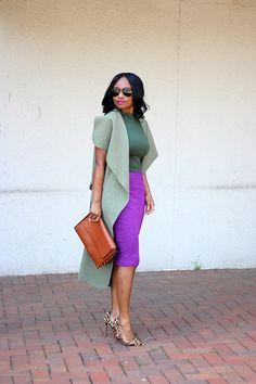 Prissysavvy: Purple & Shades of Green