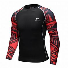 Mens Bodybuilding Compression Shirt