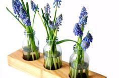 1 Milchkanne aus Kirsche, Blumenvase, Vase,Holz von kerfra via dawanda.com