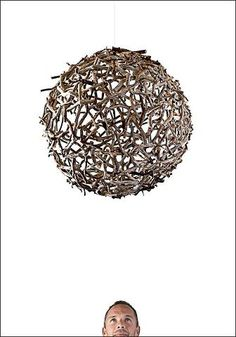 Wood Sphere by Stefan Daiberl