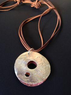 Mônica Severo contemporary jewelry 2014. Silver & Copper