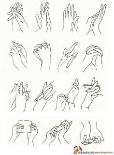 Dedos y manos