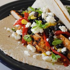 healthy grilled tacos... other recipes on this blog look amazing, too!