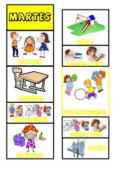 91 Ideas De Plantillas Rutina Diaria De Niños Rutinas Escolares Educacion Infantil