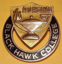 Black Hawk College IL pin