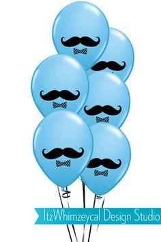 12 Blue Little Man Mustache Birthday Balloons With 2 Candy Favor Balloon Weights Blue Little Man Mus Little Man Party, Little Man Birthday, Baby Boy 1st Birthday, First Birthday Parties, Birthday Party Themes, First Birthdays, Birthday Ideas, Moustache Party, Mustache Birthday