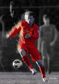 "Lucas Leiva ""The Boss"" Liverpool Football Club, Liverpool Fc, You'll Never Walk Alone, Walking Alone, My Idol, Boss, Superhero, Sports, Red"