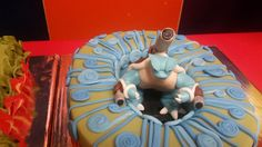 The Baileys: Blastoise Pokemon Cake