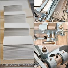 """Made-by-May: Projekt """"Beutelbücher"""" I Bookbinding, Home, Sachets, Ad Home, Homes, Haus, Book Binding, Houses"""