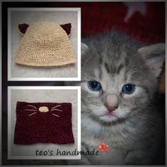 teo's handmade: Pisicuta pis, pis, pis.... Cats, Handmade, Animals, Gatos, Hand Made, Animales, Animaux, Animal, Cat