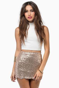 Dancing Queen Sequin Skirt