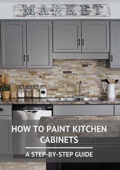 **MY KTICHEN REMODEL** How to Paint Kitchen Cabinets- A Step-by-Step Guide 2