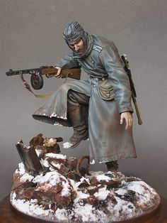 II Guerra mundial - Soldado soviético (WWII - Soviet Soldier)