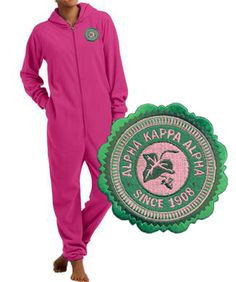 Alpha Kappa Alpha Fleece Lounger SALE $29.95. - Greek Clothing and Merchandise - Greek Gear®