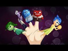 Finger Family Song! Disney Pixar's Inside Out Nursery Rhyme! Inside out Finger Family