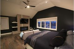 Beautiful contemporary bedroom design for the sharp-minded