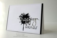 Mama Elephant, Paper Smooches, Happy, Foil, Aluminio, Albal, Cumpleaños, Birthday, Tim Holtz, Card, Cardmaking, Tarjeta, Tarjeteria