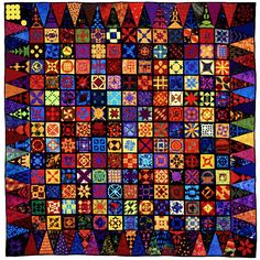 """""""In Our Time"""" - Dear Jane Quilt by Judy Doenias and Diane Rode Schneck"""