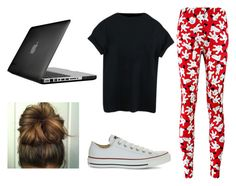 being home by veiinticuatro on Polyvore featuring Converse and Speck