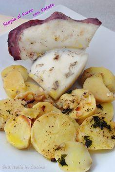 Seppia al forno con Patate - http://blog.giallozafferano.it/suditaliaincucina/seppia-forno-patate/