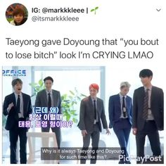 Infinite Members, Sanji One Piece, Twitter Video, Nct Life, Funny Kpop Memes, Bts And Exo, Nct Taeyong, Kpop Guys, Cheer Up