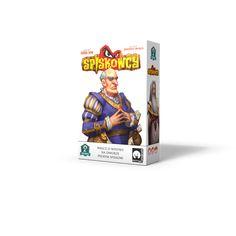 Spiskowcy cardgame box cover