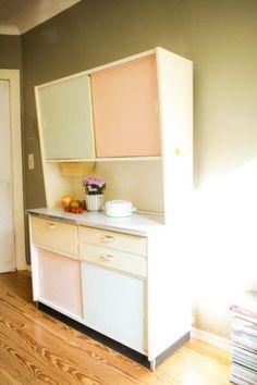 Küchenbuffet mit Vitrine Oma´s Küchenschrank S von Engel