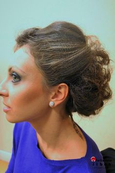 Beautiful haistyle, by Atelierele ILBAH team.