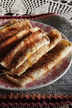 Pannekoeke, Pa's en Tannie Poppie Crepe Recipes, Tea Recipes, Sweet Recipes, Breakfast Recipes, Dessert Recipes, Cooking Recipes, South African Desserts, South African Recipes, Pannekoek Recipe