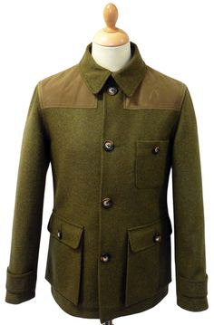 f83d09dbca03 COMMON PEOPLE Mens Retro Mod Poachers Jacket